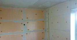 Звукоизоляция, эковата, пеноизол, утепление стен изнутри